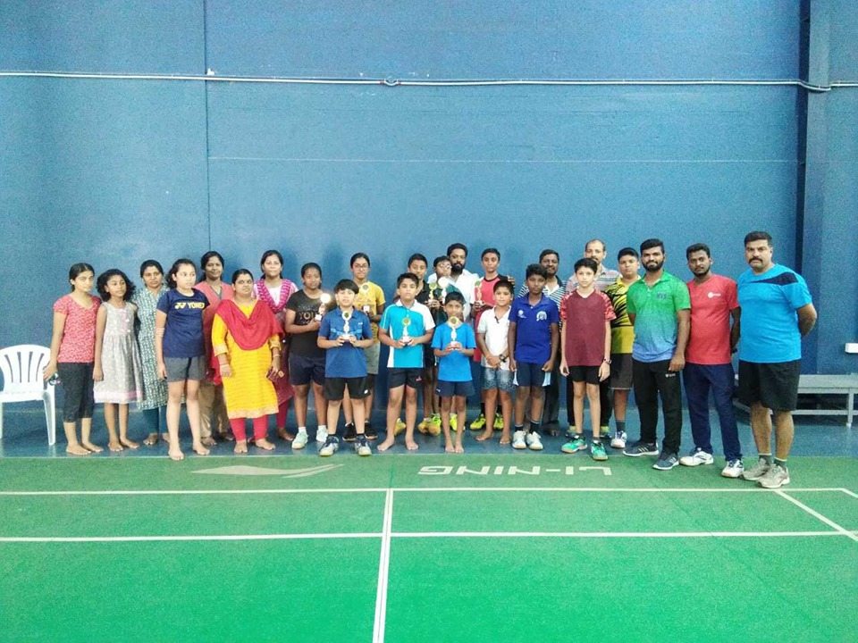 Kids Badminton Event