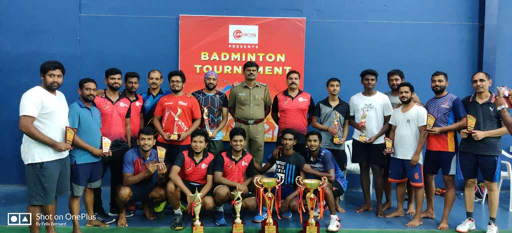 Badminton Tournament @LS- KNG Unit