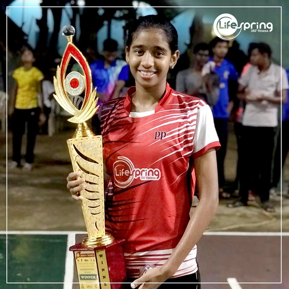 Best Player Award in Kongu Trophy