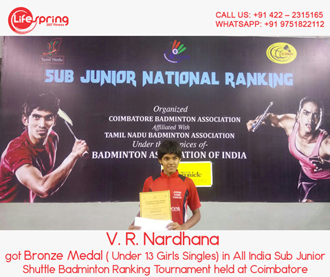Sub Juniors Shuttle Badminton Ranking Tournament