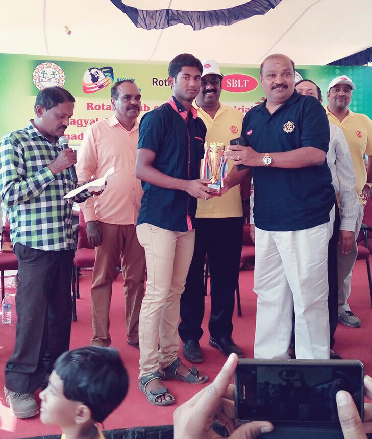 Tamilnadu best Para Badminton Player Award